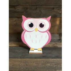 OWL - LITTLE PINK 28CM