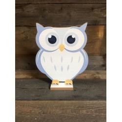 OWL - LITTLE BLUE 28CM