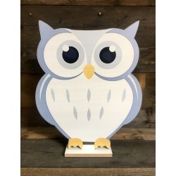 OWL - LARGE BLUE 44CM