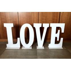 LOVE TEXT 115X50CM