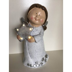 CERAMIC FIGURE LED 24.5*19*42
