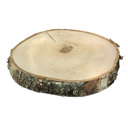 WOODEN SLICE 30-34CM THICKNESS 4CM