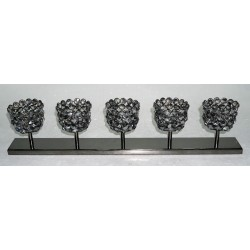 METAL CANDLE HOLDER 44X38X66