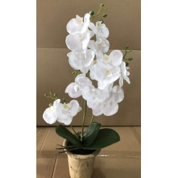ARTIFICIAL FLOWER IN POT h46 cm