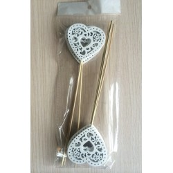 WOODEN STICKS 6PCS 18CM
