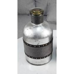 GLASS VASE 18X18X33