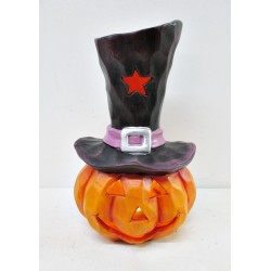 LED CERAMIC PUMPKIN 13*12*22