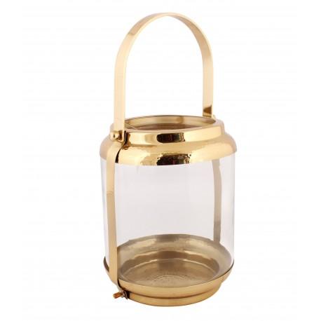 Lampion Metalowy 24x24x32