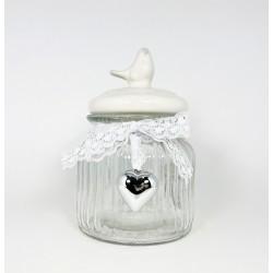 GLASS JAR 11X16