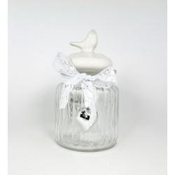 GLASS JAR 11X13