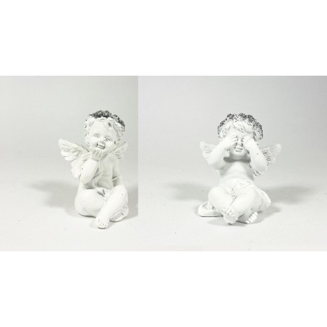 CERAMIC ANGEL 6*5.5*6 PRICE FOR 1PC, MIX 4PCS