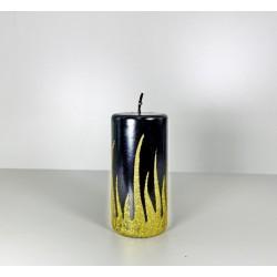 WALEC 60X120 FLAME CZARNY + ZLOTO