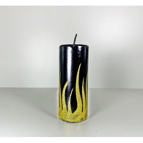 WALEC 60X150 FLAME CZARNY + ZLOTO