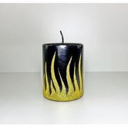 WALEC 80X100 FLAME CZARNY + ZLOTO