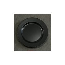 Talerz z tworzywa 33 cm czarny