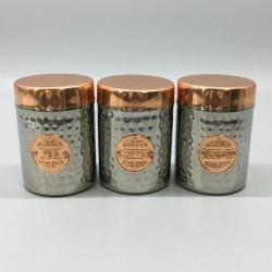 Pojemniki Metalowe kpl 3 szt 9,5x13,5