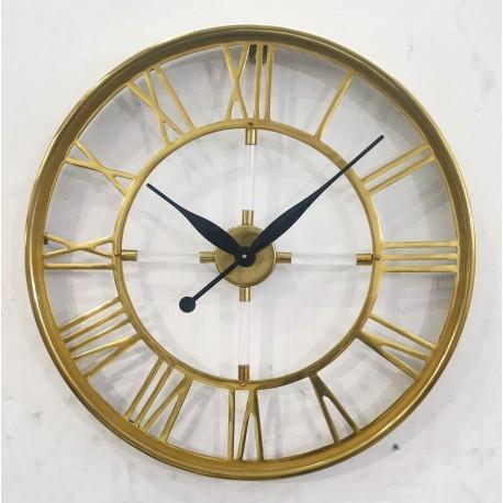 Zegar Metalowy 51x5x51