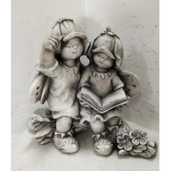 Figura Ogrodowa z Ceramiki 43x23x37
