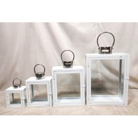 Latarnie Metalowe 15x43x29,12x33x24,10x24x18,8x16x