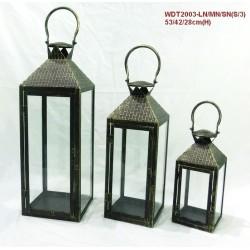 Latarnie Metalowe 18x53x18,15x42x15,12x28x12