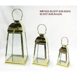 Latarnie Metalowe 24x52x24,17x37x17,24x49x24