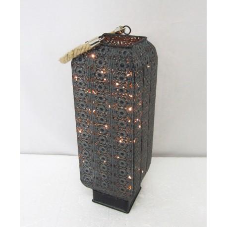 Lampion Metalowy 13,5x41x13,5