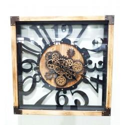 Zegar Metalowy 70x8x70