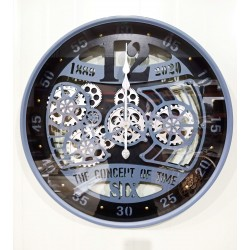 Zegar Metalowy 60x8x60