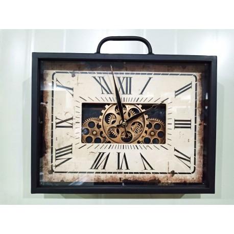 Zegar Metalowy 70x8x35