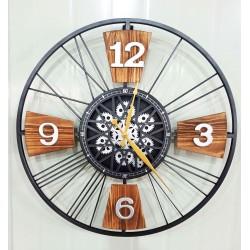 Zegar Metalowy 60x7x60