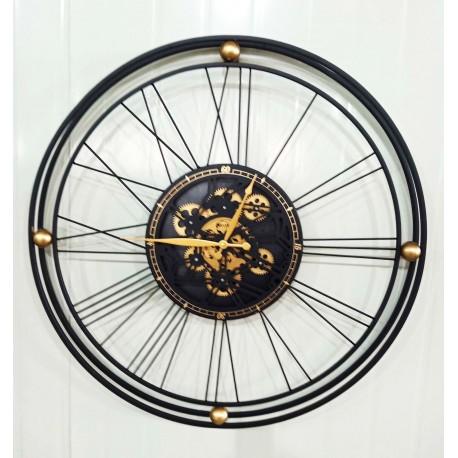 Zegar Metalowy 80x7x80