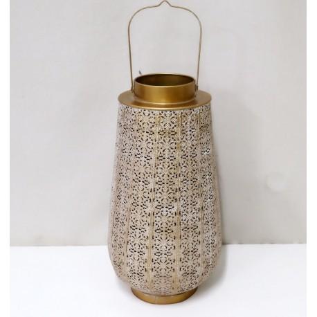 Lampion Metalowy 20,5x38,5x20,5