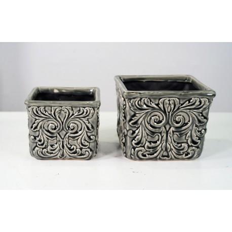 BZ. Oslonka z ceramiki 14,5x14,5x12